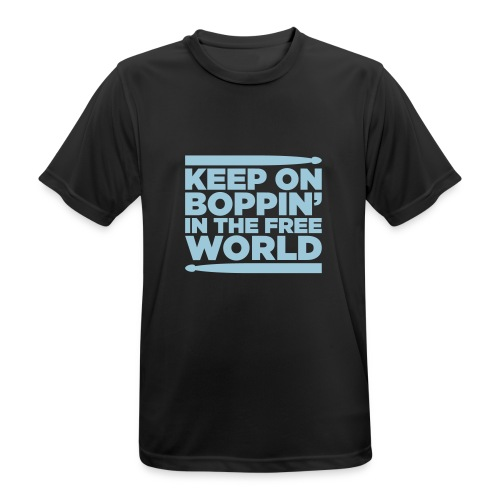 Keep on Boppin' - Men's Breathable T-Shirt