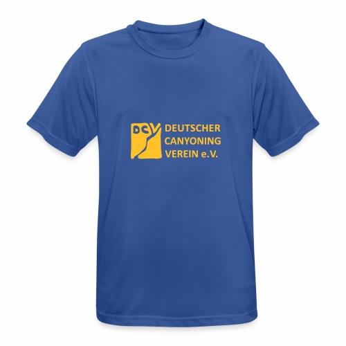 DCV Logo einfarbig - Männer T-Shirt atmungsaktiv