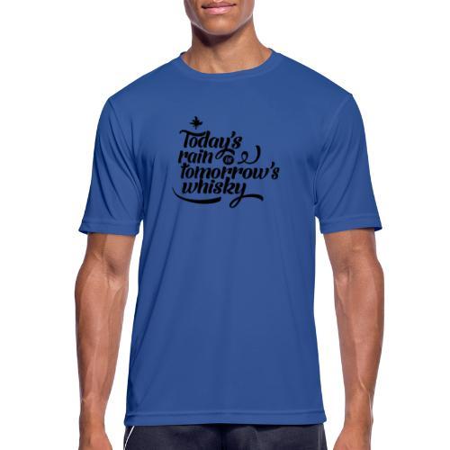 Today's Rain - Men's Breathable T-Shirt
