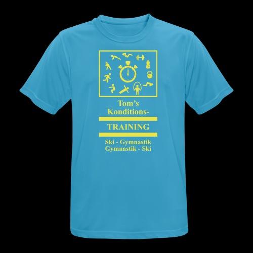 T-Shirt - Männer T-Shirt atmungsaktiv