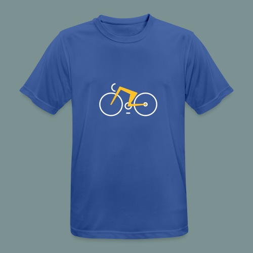 Bikes against cancer - Herre T-shirt svedtransporterende