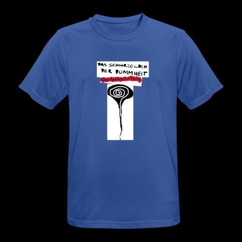 schwarzes lochohne signatur - Männer T-Shirt atmungsaktiv
