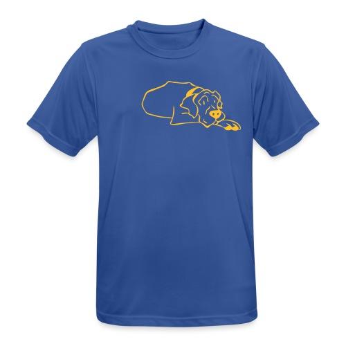 tyson ligger - Pustende T-skjorte for menn