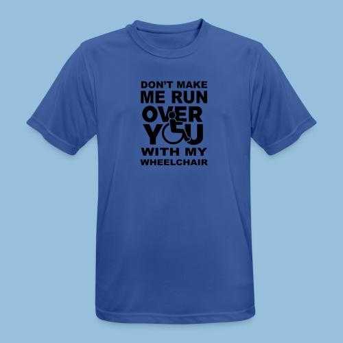 Runover1 - Mannen T-shirt ademend