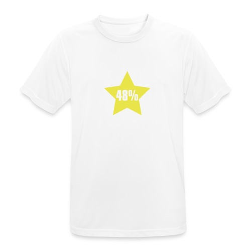 48% in Star - Men's Breathable T-Shirt