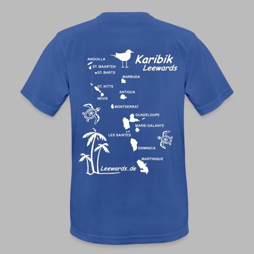 Karibik Leewards Segeln Leward Islands - Männer T-Shirt atmungsaktiv