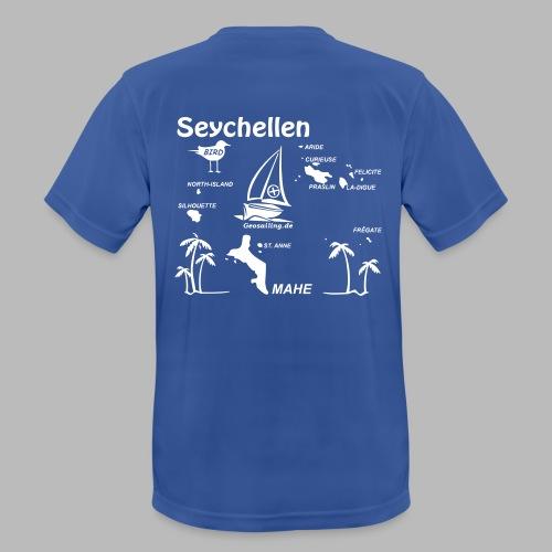 Seychellen Insel Crewshirt Mahe etc. - Männer T-Shirt atmungsaktiv
