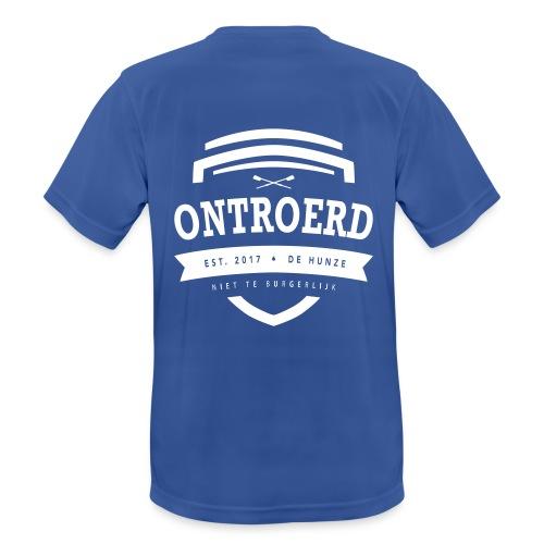 model 1, Ontroerd, Roeien - Mannen T-shirt ademend actief