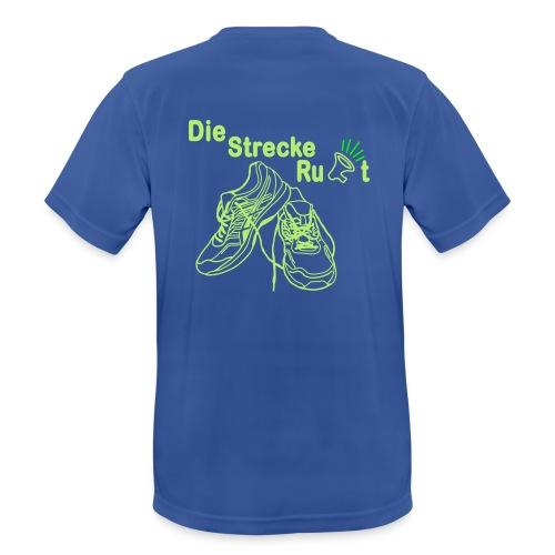 DieStreckeRuft - Männer T-Shirt atmungsaktiv