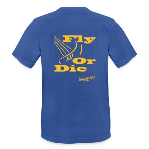 flyordie - Männer T-Shirt atmungsaktiv