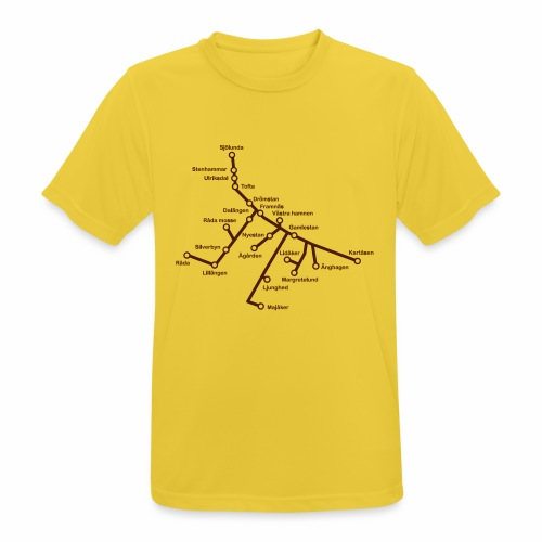 Lisch Tisch Hoods - Andningsaktiv T-shirt herr
