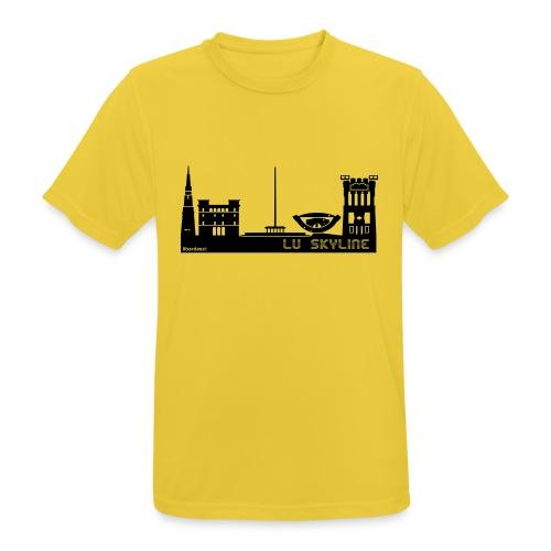 Lu skyline de Terni - Maglietta da uomo traspirante