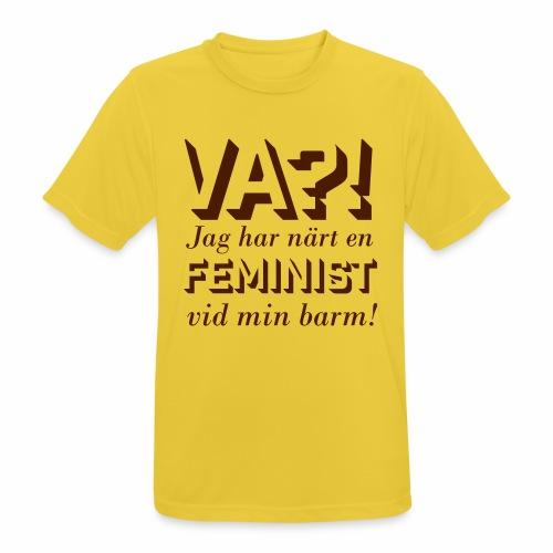 Va?! - Andningsaktiv T-shirt herr