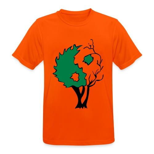 Yin Yang Arbre - T-shirt respirant Homme