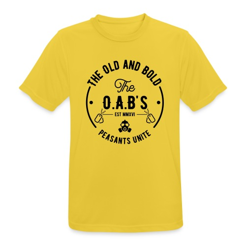 OAB unite black - Men's Breathable T-Shirt