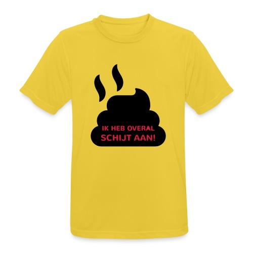 Grappige Rompertjes: Ik heb overal schijt aan - Mannen T-shirt ademend actief