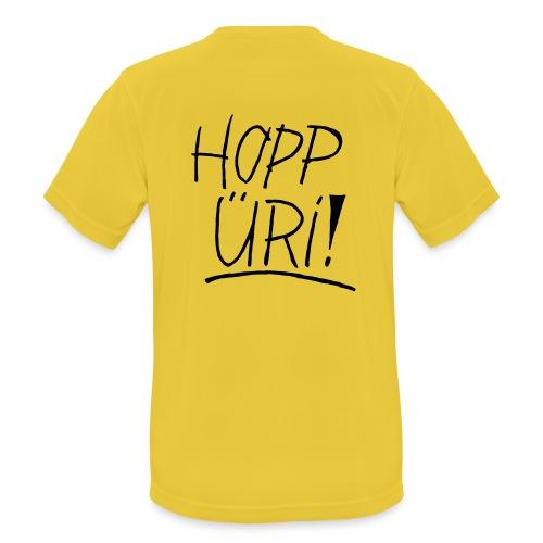 Hopp Üri - Männer T-Shirt atmungsaktiv