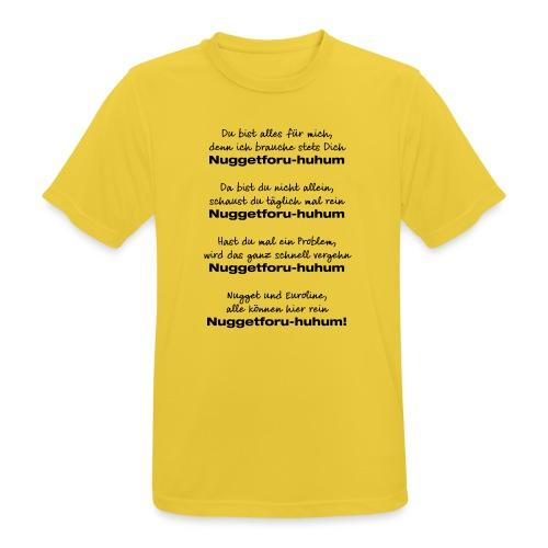 Du bist alles für mich - Männer T-Shirt atmungsaktiv