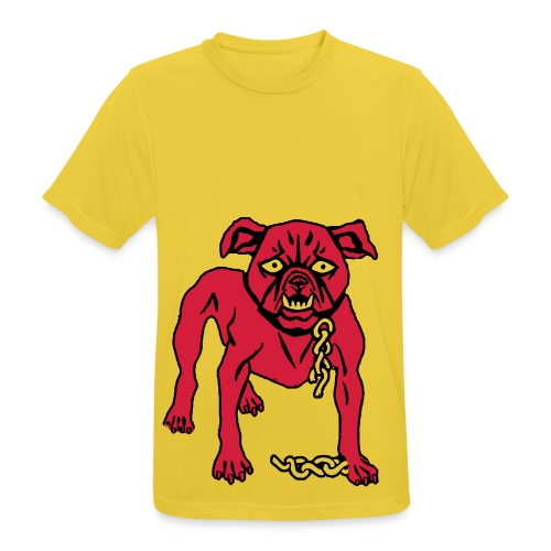 Red Dog - Men's Breathable T-Shirt