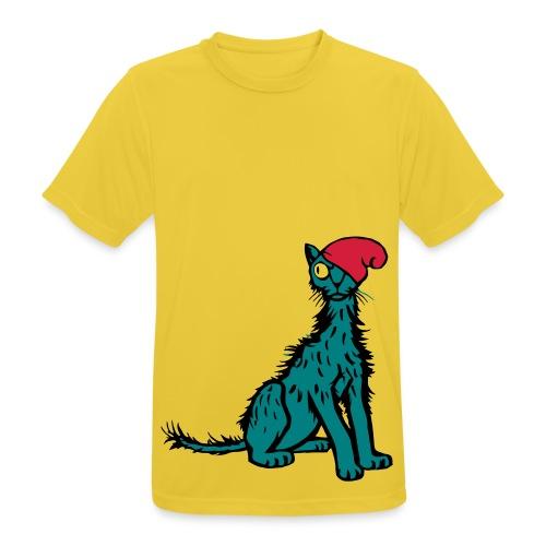 Sleepy Cat - Men's Breathable T-Shirt