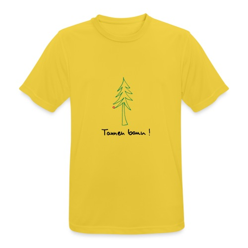 Tannen baun ! - Männer T-Shirt atmungsaktiv