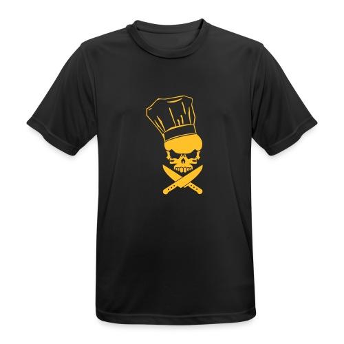 foodskull - Männer T-Shirt atmungsaktiv