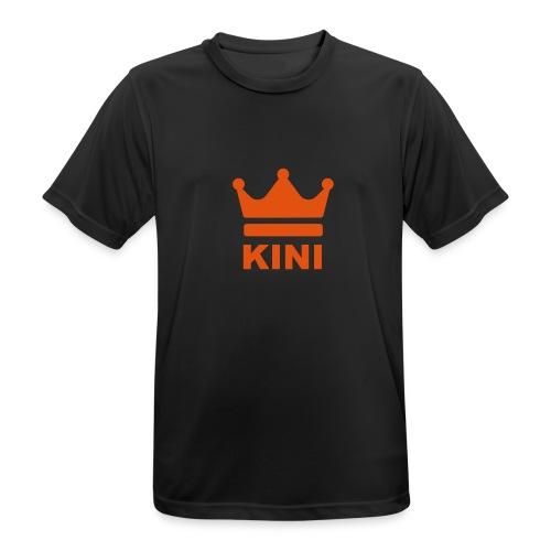 KINI ist König - Männer T-Shirt atmungsaktiv