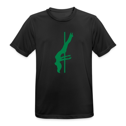 Pole Dance - Maglietta da uomo traspirante
