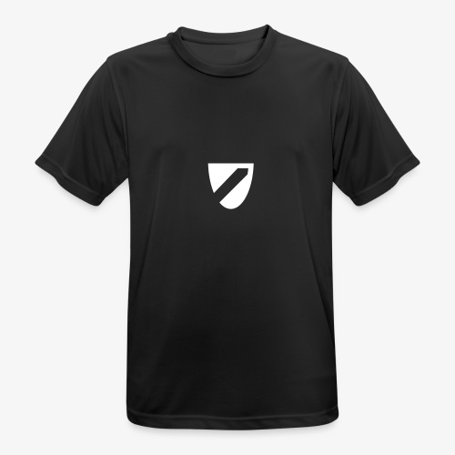 logo - Mannen T-shirt ademend