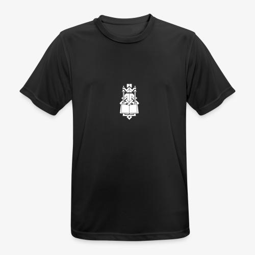 INDES Logo - Männer T-Shirt atmungsaktiv