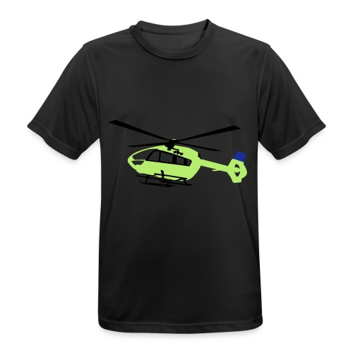 H-145 Gelb mit Winch - Männer T-Shirt atmungsaktiv