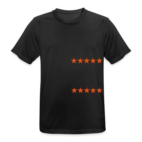 ratingstars - miesten tekninen t-paita