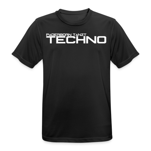 PADERBORN TANZT TECHNO - Männer T-Shirt atmungsaktiv