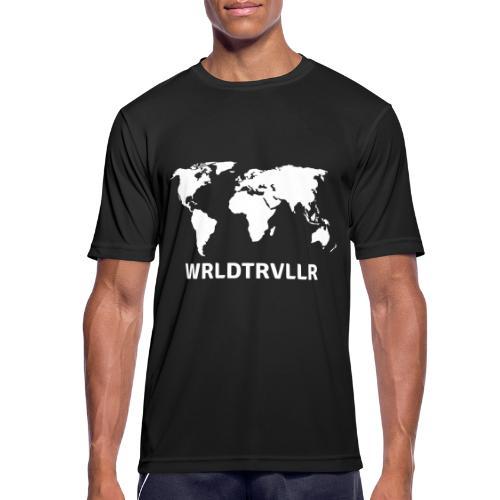 Worldtraveller - Männer T-Shirt atmungsaktiv