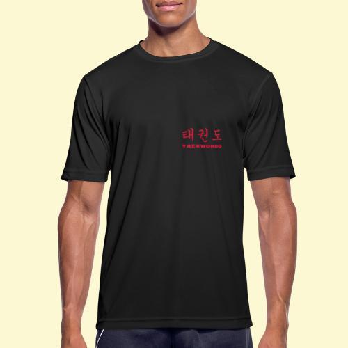 TKD Hangul - Männer T-Shirt atmungsaktiv
