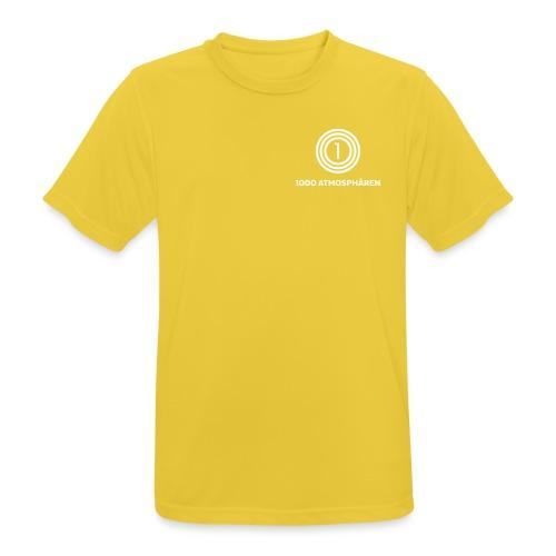 1000 Atmosphären Logo - Männer T-Shirt atmungsaktiv