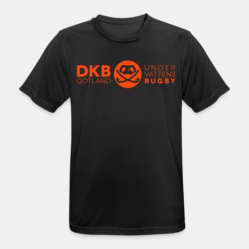 DKB_inv__dkb_logga_uv - Andningsaktiv T-shirt herr