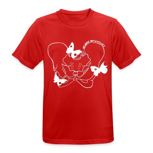 No more butterflies - Männer T-Shirt atmungsaktiv