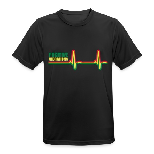 POSITIVE VIBRATION - Men's Breathable T-Shirt