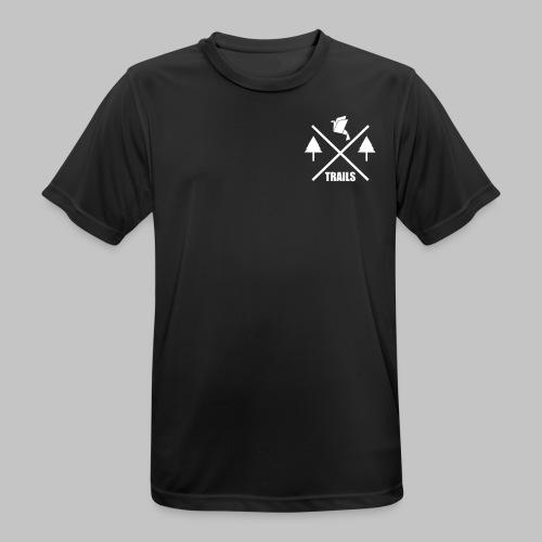 SPORT Classic Logo X-Trails - Männer T-Shirt atmungsaktiv