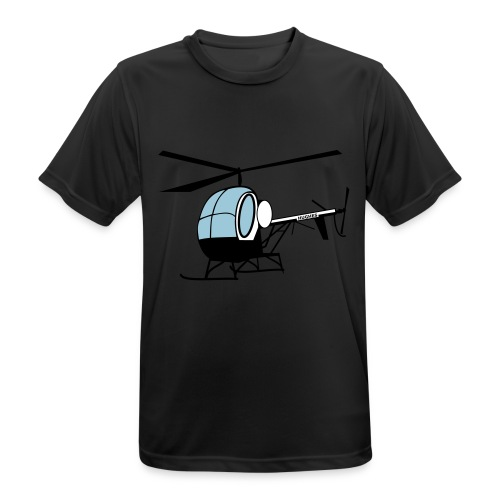 Hughes 300 - Männer T-Shirt atmungsaktiv