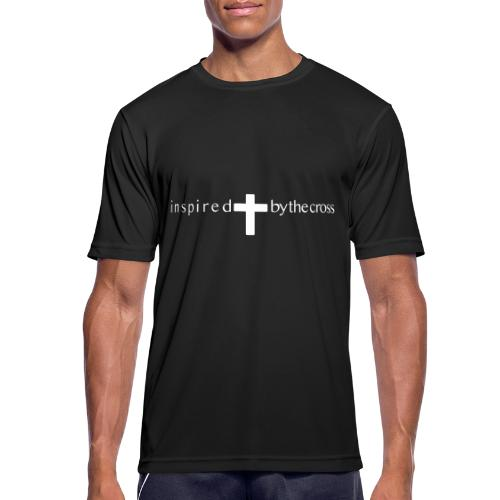 Inspired by the cross - T-shirt respirant Homme