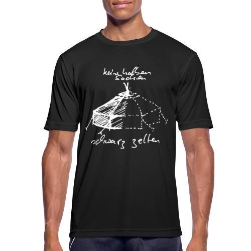 keine halben Sachen - Männer T-Shirt atmungsaktiv