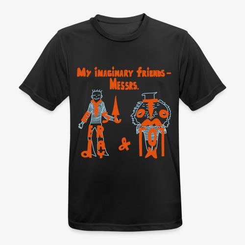 My imaginary friends T-shirt - Männer T-Shirt atmungsaktiv