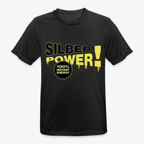 SilberPower! - Herre T-shirt svedtransporterende