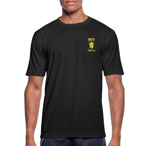 WFV Logo vorn und hinten - Männer T-Shirt atmungsaktiv