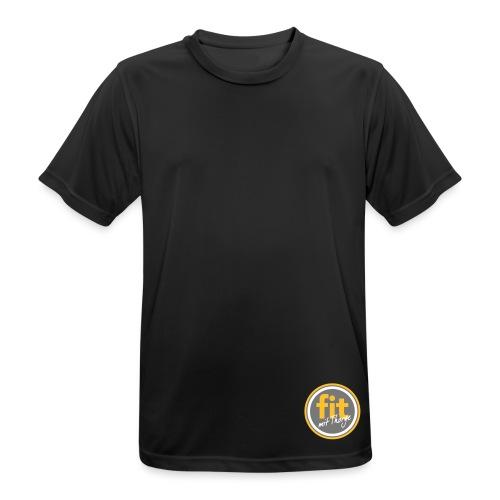 logo fit mit thorge - Männer T-Shirt atmungsaktiv