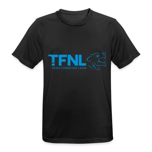 TFNL Blue Logo Tee - Men's Breathable T-Shirt