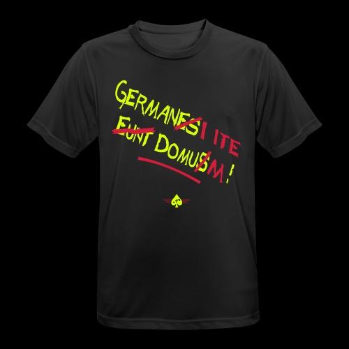 GermanesEuntDomus_3col - Männer T-Shirt atmungsaktiv