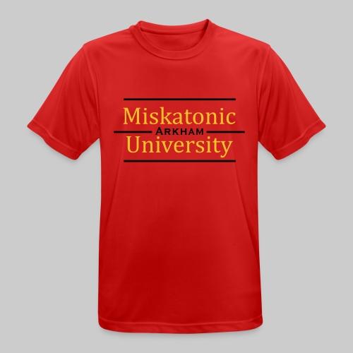 MJKv1: Miskatonic University - Arkham - Männer T-Shirt atmungsaktiv